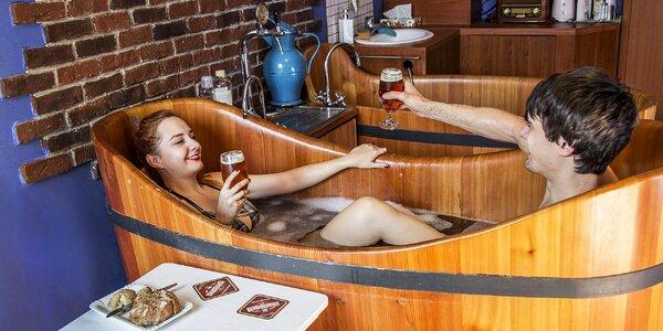 1–4 noci v Poděbradech, pivní koupel i procedury