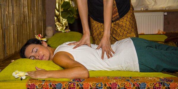 Thajská masáž od certifikovaných masérek v Chrudimi