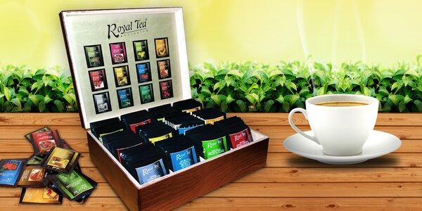 Dárková kazeta plná 120 výtečných porcovaných čajů