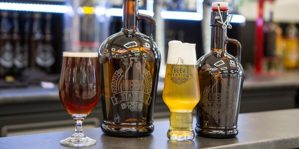Výběr z 8 druhů piv v hodnotě 300 nebo 500 Kč