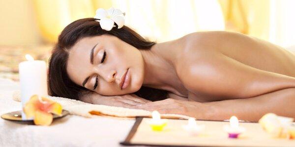 Vanilková relaxační masáž zad a šíje