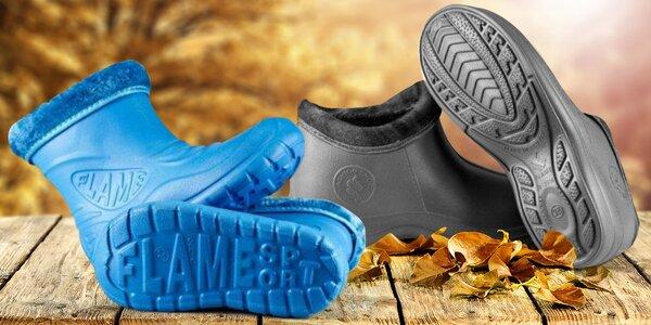 Zateplené boty Flameshoes pro celou rodinu
