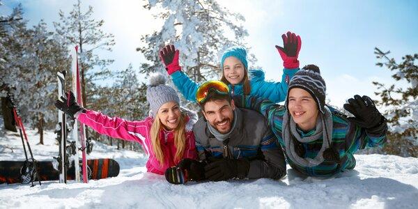 Aktivní zima na Lipně s polopenzí