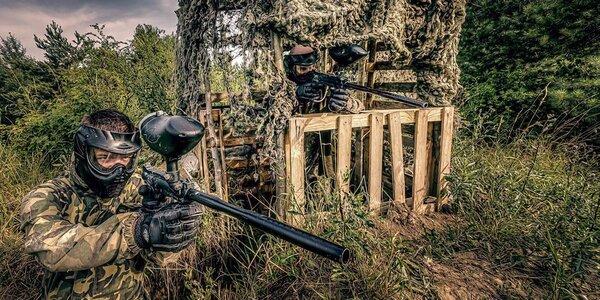 Neomezený vstup na paintball na vojenské základně