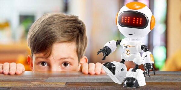 Robot s ohebnými klouby reagující na dotek