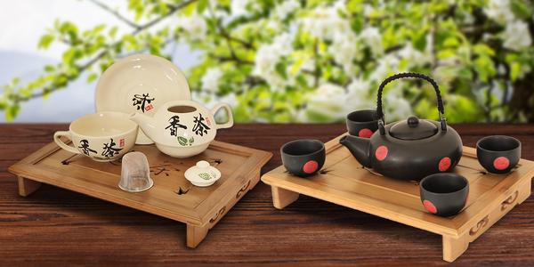 Originální čajové sety a 50 gramů černého čaje