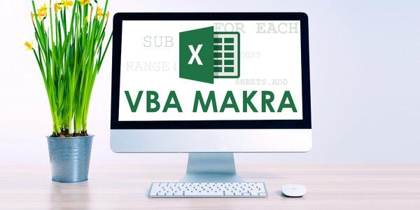 Online kurz Excel VBA a makra s certifikátem