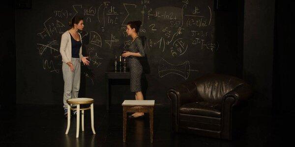Vstupenka na divadelní hru Důkaz