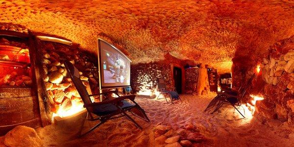 Ozdravný pobyt v pravé solné jeskyni pro 1 i 2