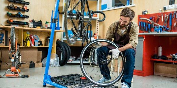 Profesionální servis jízdního kola: 3 balíčky