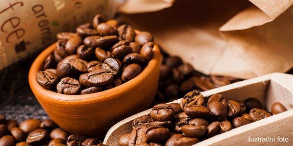 Vouchery na nákup kávy v hodnotě 600 a 1800 Kč