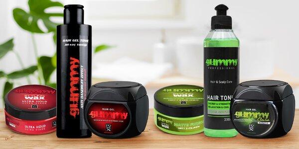 Pánská vlasová kosmetika: tonikum, vosk i gel