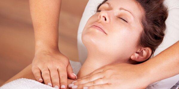 3x 30 min. masáž pro vaše zdraví a pro relax