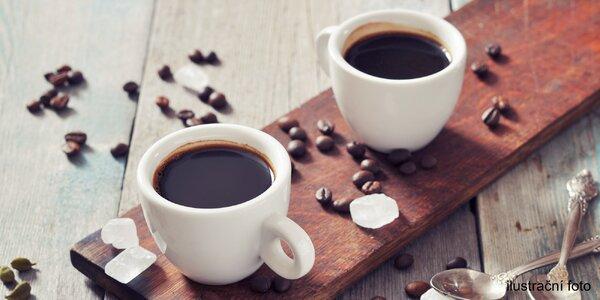 Zahřejte se kávou: 2x americký filtr i flat white