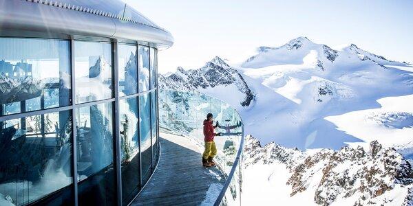1denní lyžování v Rakousku včetně tří ledovců