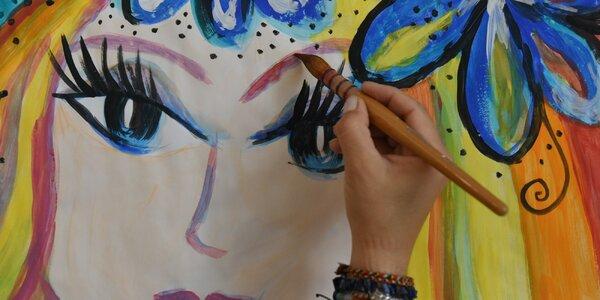 90min. program volné malby pro děti i dospělé