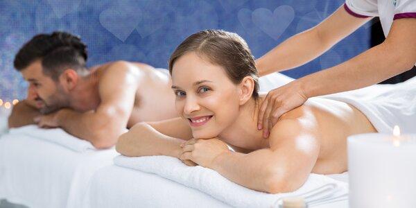 Láskyplné uvolnění ve dvou: párová masáž