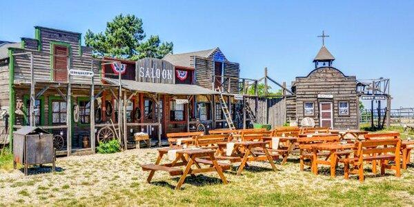Wellness pobyt na westernovém ranči s polopenzí