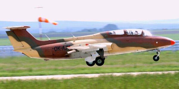 Adrenalinový let na proudovém letadle L-29 Delfín