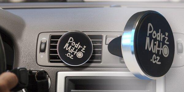 Magnetický držák na telefon PodržMiHo do mřížky auta
