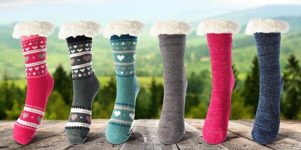 Dámské hřejivé ponožky Termal z ovčí vlny