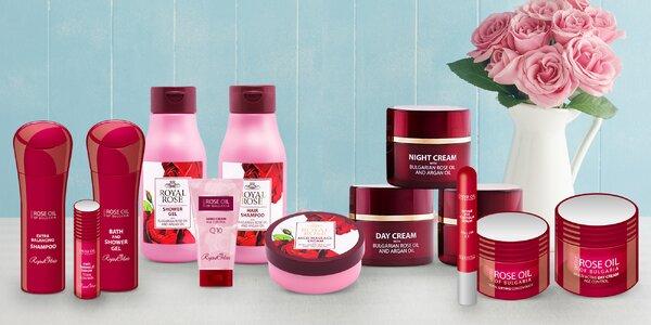 Kosmetické balíčky s olejem z bulharské růže