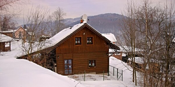Podzim i zima v Jizerkách v chalupě až pro 13 os.