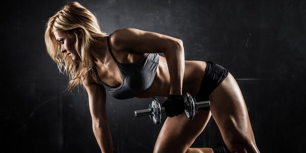 Fitness s trenérkou včetně permanentky