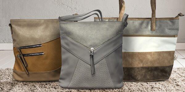 Elegantní kabelky z eko kůže: několik typů a barev