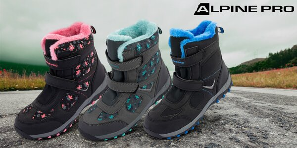 Dětské zimní boty Alpine Pro s kožíškem: 3 barvy