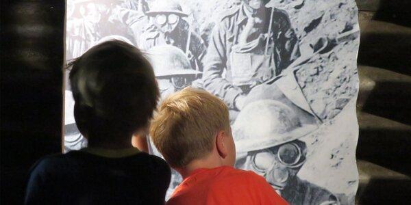 """Vstupné na výstavu """"Tohle je válka 1914–1918"""""""