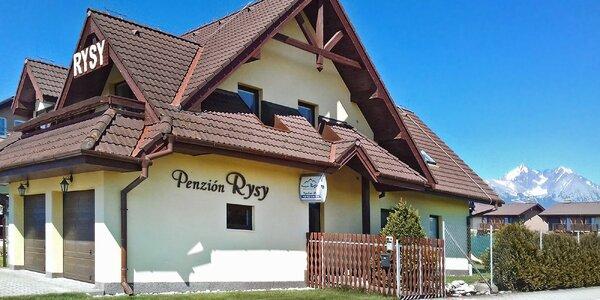 Aktivní pobyt v útulném penzionu pod Tatrami