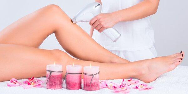 Pečlivá IPL epilace: horní ret, podpaží i nohy