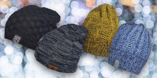 Pánské čepice z vlny nebo s mikroplyšem: 11 barev