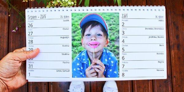 Kalendář z vašich nejmilejších fotek
