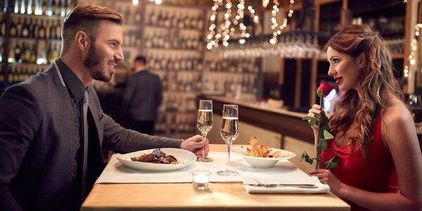Romantický večer: koncert vážné hudby i večeře