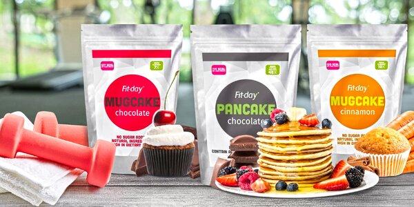 Dezert bez výčitek: proteinové palačinky a koláče