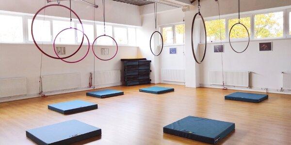 Dvouhodinový workshop pole dance či aerial hoop