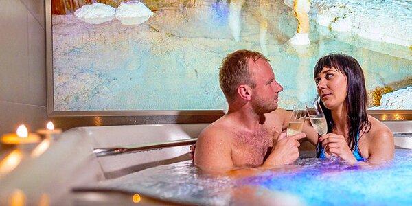 Romantika v Moravském krasu s privátním wellness