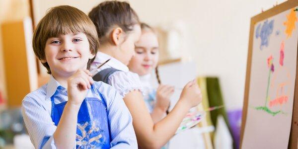 Společné malování pro dítě a dospělého