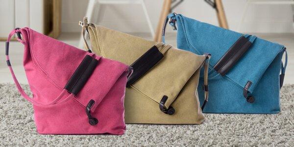 Originální plátěné kabelky pro vaše cennosti