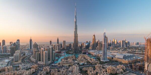 Letecky do Dubaje: 4 noci v hotelu se snídaní