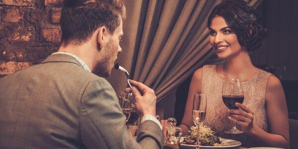 Romantický kulturní večer s večeří