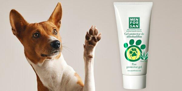 Pro heboučké psí packy: gel s Aloe vera