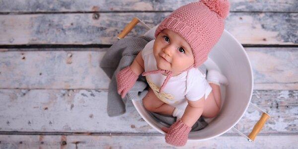 Focení dětí a miminek či nastávajících maminek