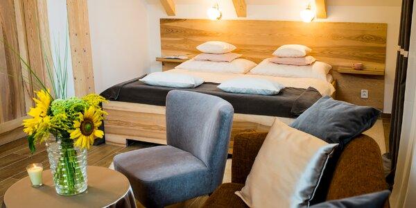 Pobyt v luxusních apartmánech v Českém ráji