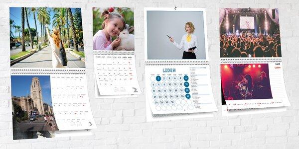 Oboustranné nástěnné fotokalendáře