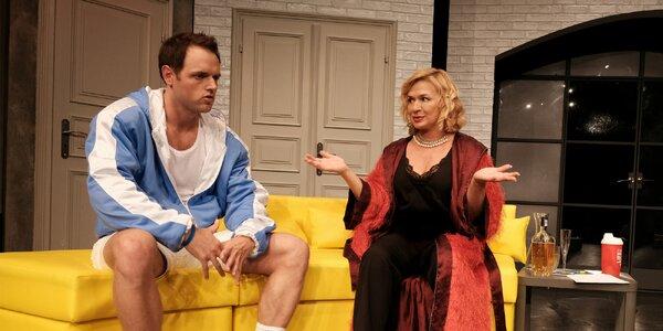 Vstupenka na francouzskou komedii Lady Oskar