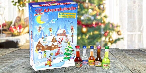 Veselý advent: alkoholový adventní kalendář