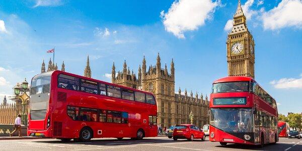 Londýn: zájezd vč. letenek a ubytování se snídaní